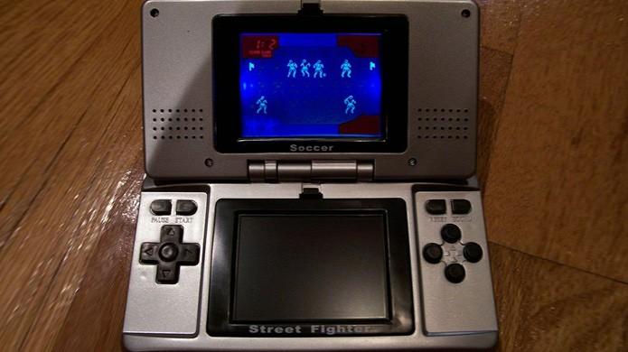 Ironicamente o Neo Double Games tinha os mesmos jogos do concorrente POP Station (Foto: Reprodução/Oobject)