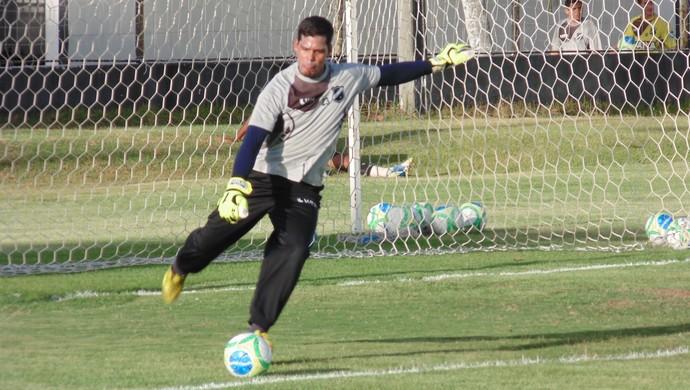 Gilvan - goleiro do ABC (Foto: Carlos Arthur da Cruz/GloboEsporte.com)