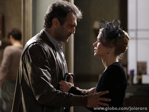 Será que algum dia esses dois vão voltar a ficar juntos? (Foto: Fábio Rocha/TV Globo)