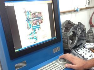 Equipamento de diagnóstico das oficinas (Foto: Divulgação)
