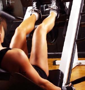 Leg press eu atleta (Foto: arte)