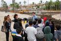 Alunos de escola estadual vistam obras do Parque da Cidade