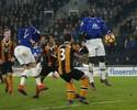 Barkley faz no fim, e Everton empata com Hull City fora de casa no Inglês