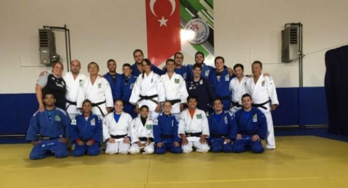 judô seleção brasileira grand prix de samsun, turquia (Foto: Divulgação / CBJ)