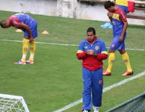 Leston Junior, técnico do Madureira (Foto: Fabrício Salvador/Madureira)