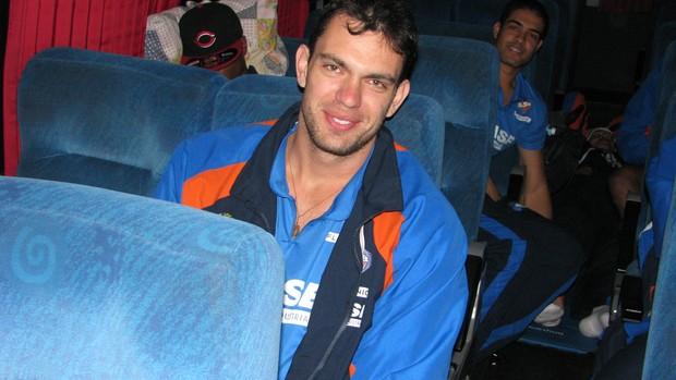 LSB - Viagem - Labbate (Foto: Rafaela Gonçalves/Globoesporte.com)