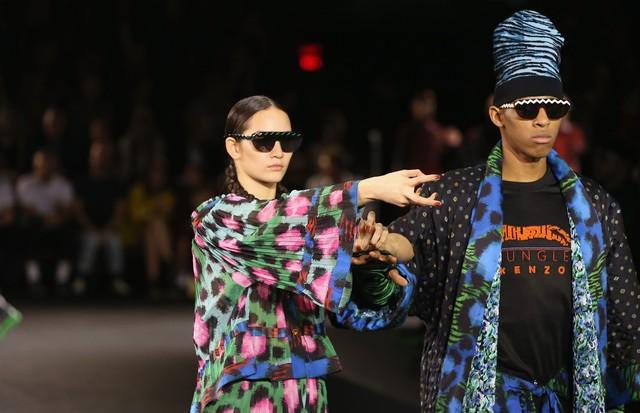 Coleção especial da Kenzo para a H&M, apresentada em outubro deste ano (Foto: Getty Images)