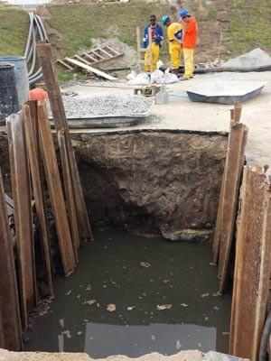 Obras estão interidatas (Foto: Divulgação / MTE)