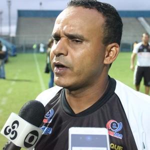 Igor Cearense, técnico do Manaus FC (Foto: Marcos Dantas)