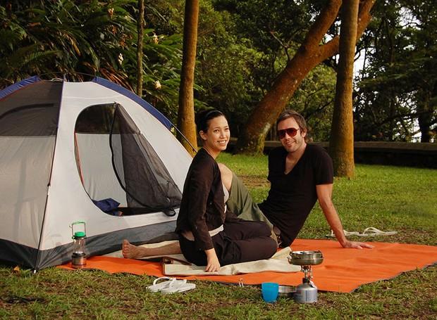 O tapete pode ser usado também sobre a grama, em acampamentos ou pic-nics no parque (Foto: Divulgação)