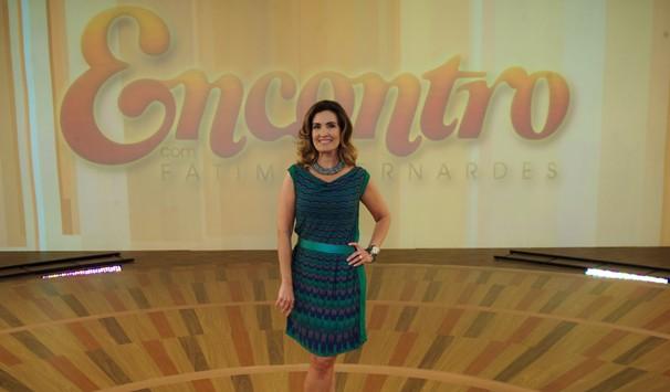 Fátima Bernnardes conta que muda de produtos de acordo com as estações do ano (Foto: Alex Carvalho/ TV Globo)