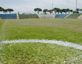 Lancha Filho, estádio da Francana (Foto: Divulgação / AA Francana)