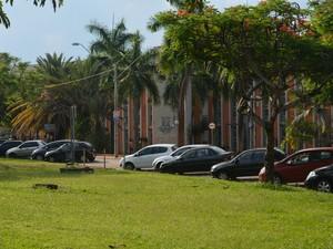Campus da Unicamp, em Campinas (Foto: Roberta Steganha/G1)