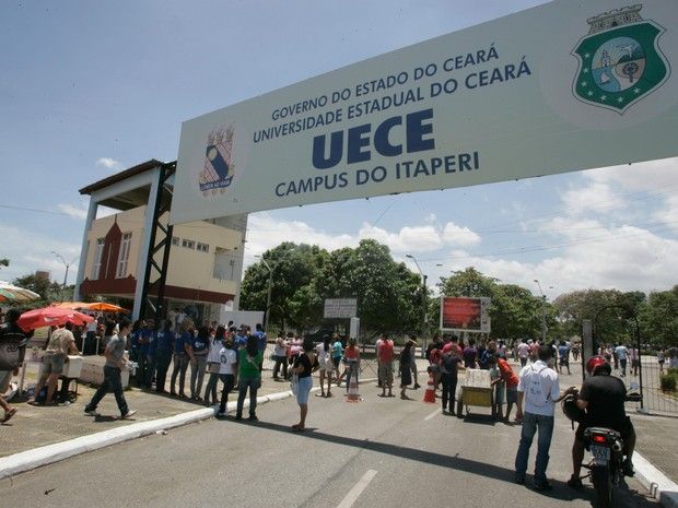 Uece, Universidade Estadual do Ceará (Foto: Agência Diário)