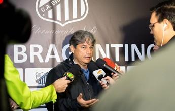 Marcelo Veiga comemora retorno ao Bragantino e pede reforços na Série B
