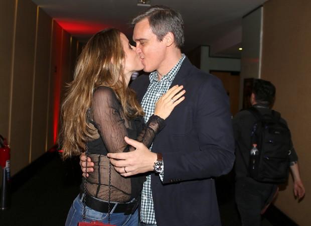 Dalton Vigh e a mulher, Camila Czerkes (Foto: Thiago Duran/AgNews)