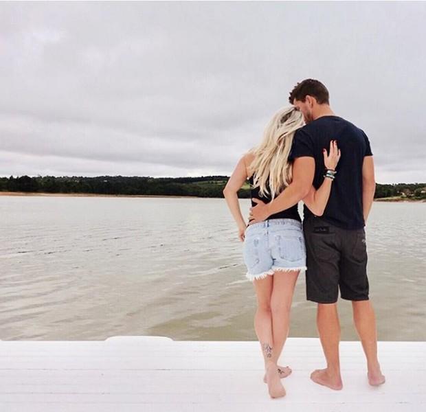 Karina Bacci e Amaury Nunes (Foto: Reprodução/Instagram)
