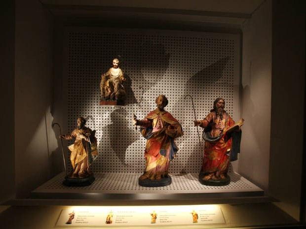 Visitantes poderão conhecer de perto obras religiosas e significado de rituais católicos durante a Semana Santa em exposição aberta em Belém nesta terça-feira (31). (Foto: Carlos Sodré/Agência Pará)