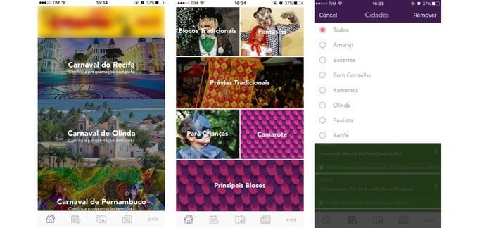 Fique por dentro de tudo que vai acontecer em Pernambuco durante o carnaval com o app PE no Carnaval (Foto: Reprodução/Camila Peres)