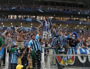 Torcida empurra o time contra o San Lorenzo (Foto: Diego Guichard/GloboEsporte.com)