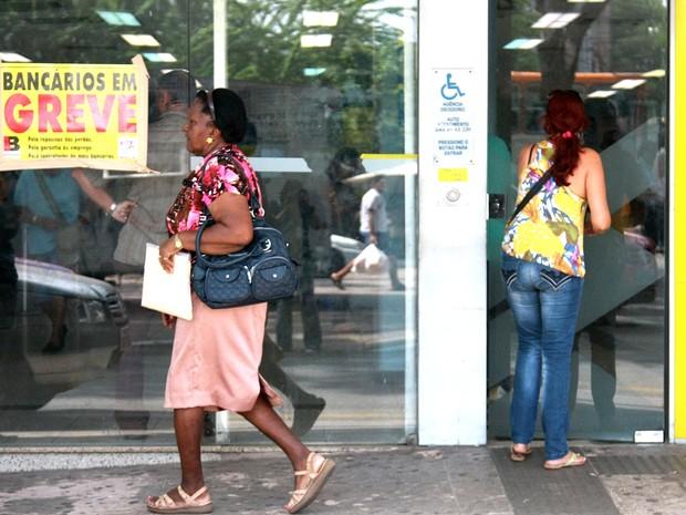 Paralisação dos bancários no Maranhão é por tempo indeterminado (Foto: Flora Dolores/O Estado/Arquivo)