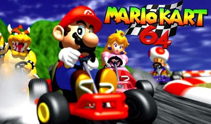 Mario Kart 64 foi um dos grandes nomes do console (Foto: Divulgação)