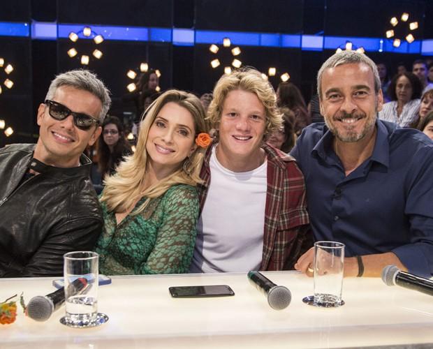 Leticia Spiller o filho Pedro Novaes  (Foto: Amor e Sexo / TV Globo)