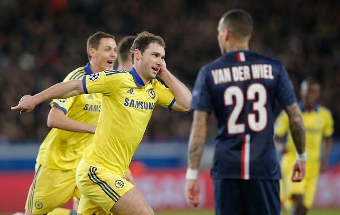 Ivanovic, gol Chelsea (Foto: AP)