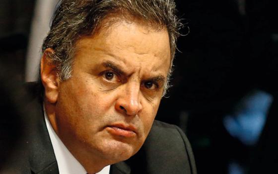 O senador Aécio Neves  (Foto:   Pedro Ladeira/Folhapress)