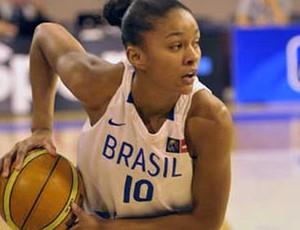 Damiris basquete Brasil x França (Foto: crédito: Romain Chaib / Divulgação)