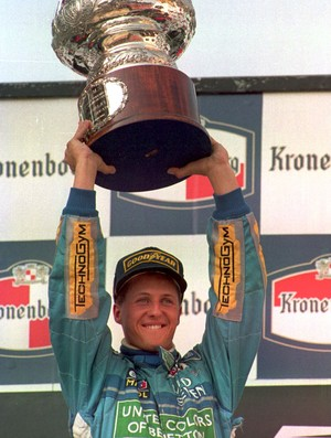 Michael Schumacher Benetton GP San Marino Fórmula 1 1994 (Foto: Agência Getty)