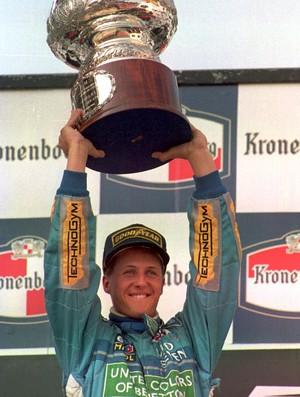 Michael Schumacher Benetton GP San Marino Fórmula 1 1994 (Foto: Agência Getty)