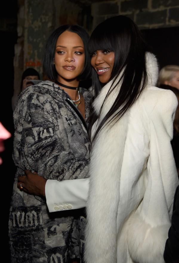 Rihanna e Naomi Campbell (Foto: Getty Images)