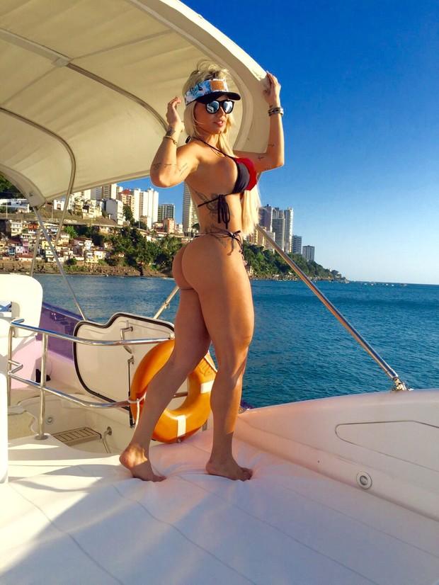 Janaina Santucci (Foto: Reprodução/Arquivo pessoal)