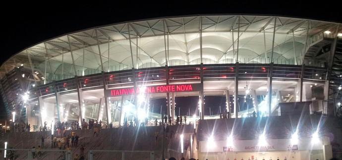 Arena Fonte Nova; Brasil x Peru (Foto: Ruan Melo)