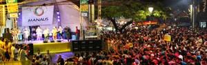 Banda do Boulevard reúne foliões na Zona Centro-Sul da capital (Girlene Medeiros /G1 AM)
