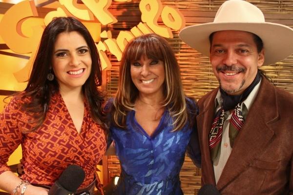 Galpão Crioulo recebe Fátima Gimenez (Foto: Verônica De Giacomo/RBS TV)