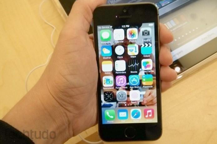 iPhone será vendido em Free Shop de Guarulhos bem mais barato que nos EUA (Foto: Isadora Díaz/TechTudo)