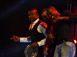 Só Pra Contrariar retorna aos palcos com festival de hits (Foto: Bernardo Medeiros/G1)