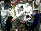 Caminhada espacial é suspensa após vazamento em capacete de astronauta