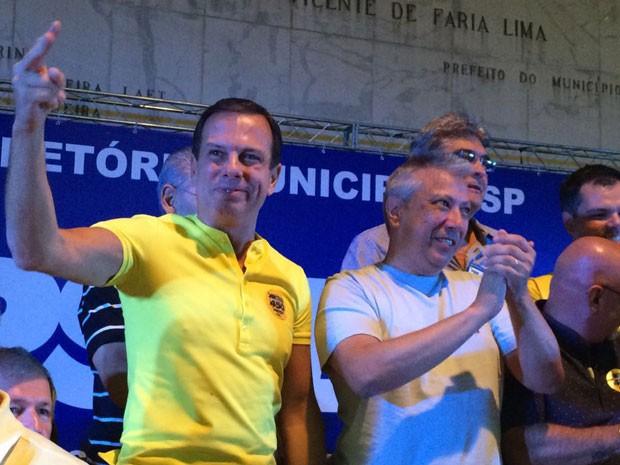 Dória é o candidato do PSDB à Prefeitura de SP (Foto: Roney Domingos/G1)