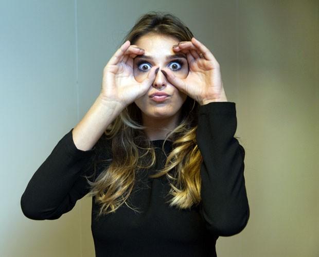 Rafa Brites conta dica caseira para melhorar as olheiras (Foto: Fabiano Battaglin/Gshow)