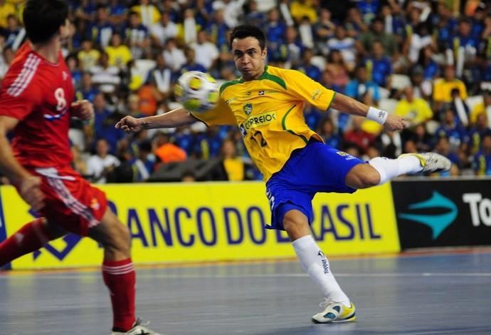 Falcão seleção brasileira grand prix futsal (Foto: Cristiano Borges/ CBFS)