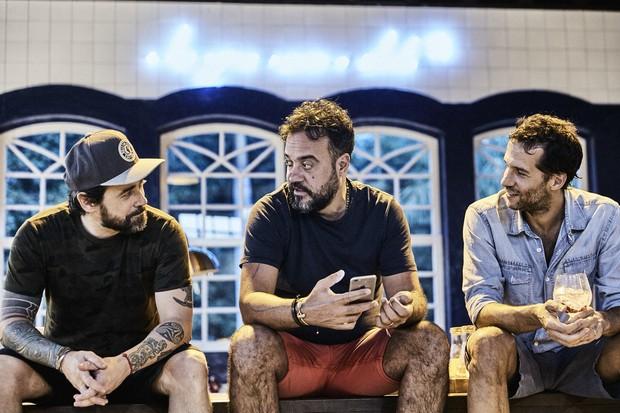 Alexandre, Arturo e Tato, os responsáveis pelo Amázzoni Gin (Foto: Divulgação)