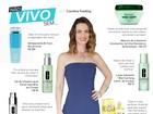 Carolina Kasting, de 'Além do tempo', revela produtos de beleza preferidos
