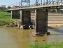Rio Acre atinge nível mais baixo da história (Caio Fulgêncio/G1)
