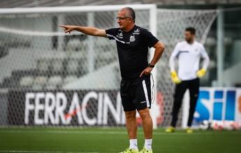 """""""Garimpeiro"""", Dorival busca novos talentos para o Santos e elogia time B"""