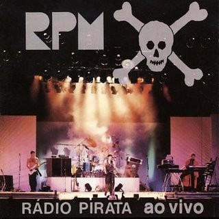 Capa do CD Rádio Pirata ao vivo (Foto: Arquivo Pessoal)
