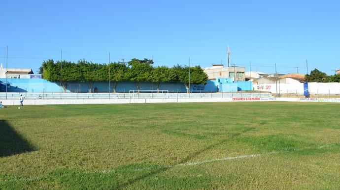 Estádio Souzão em Itabaianinha (Foto: Thiago Barbosa / GLOBOESPORTE.COM)