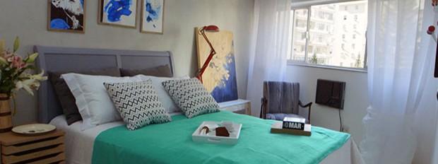 Olho mgico, episdio 4, Vivi e Nelma, quarto de msica e quarto de casal, leila bittencourt (Foto: Divulgao/GNT)